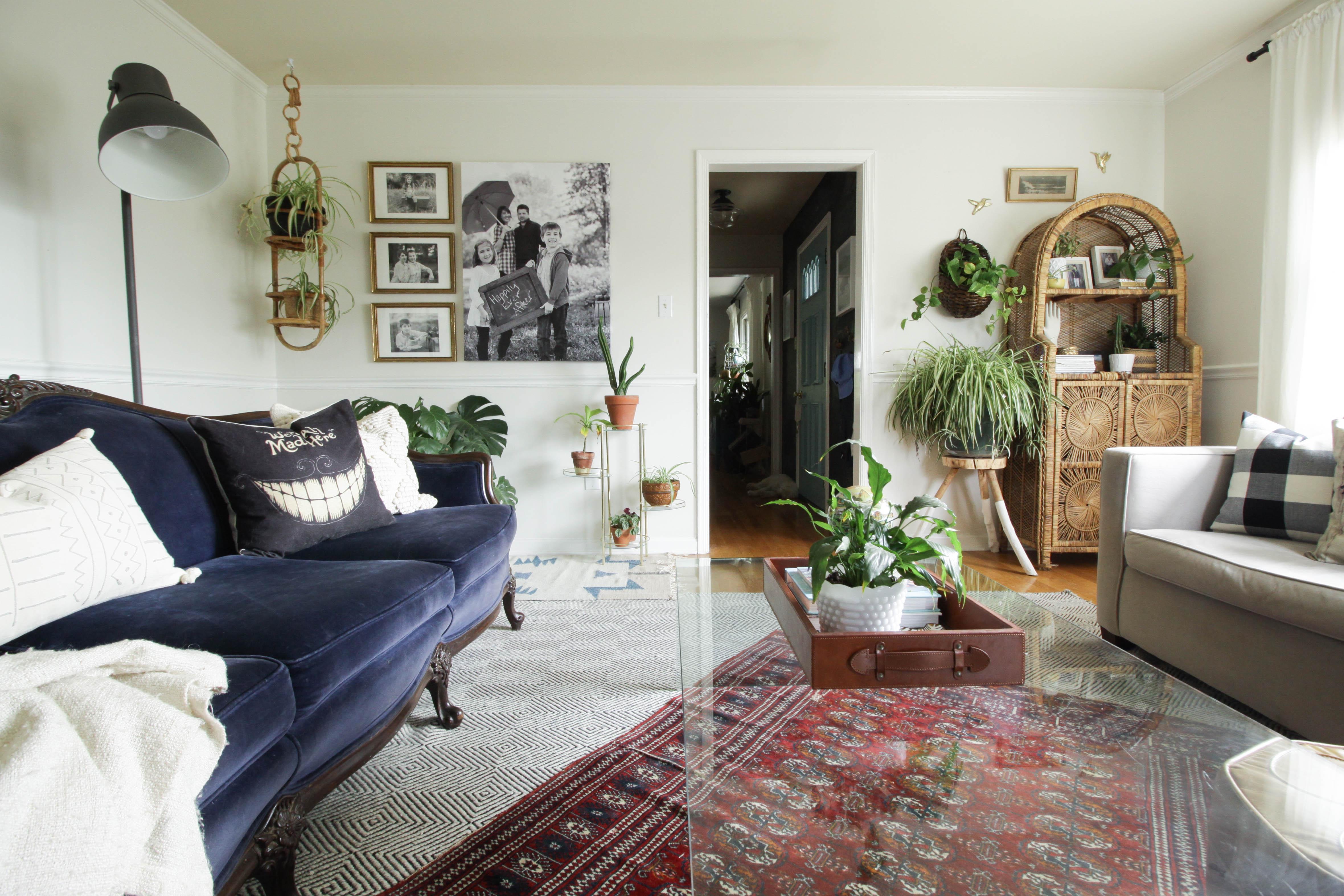 Fall Home Tour Living Room Cassie Bustamante
