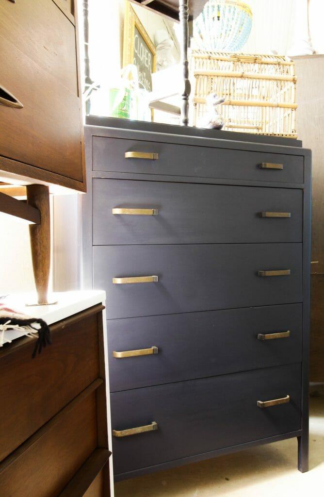 General Finishes Coastal Blue Dresser