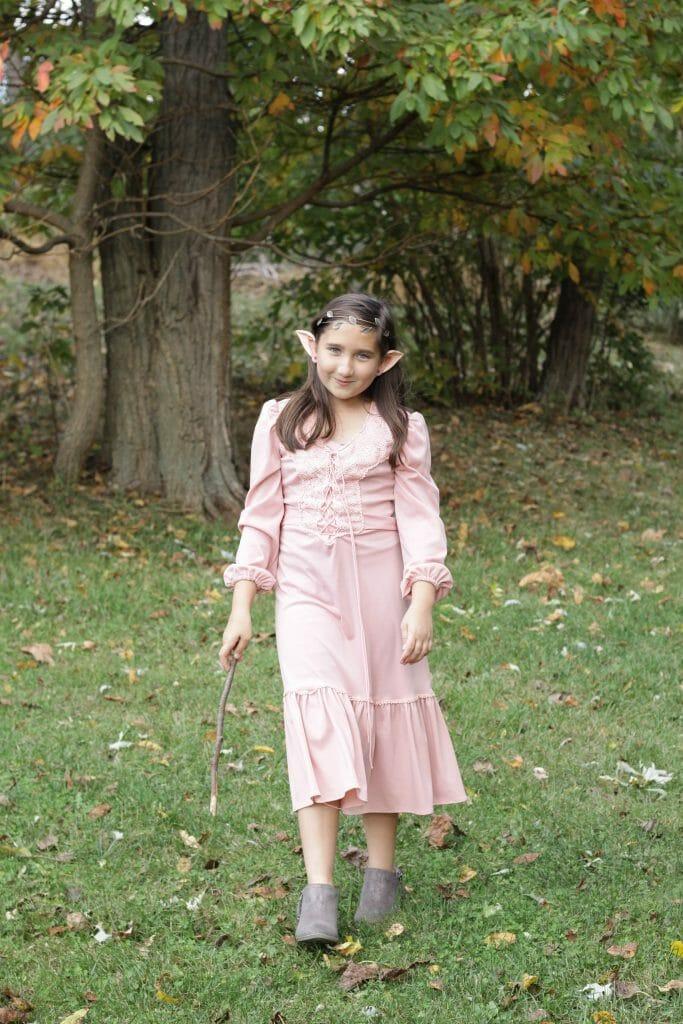 Magical Woodland Elf DIY Costume