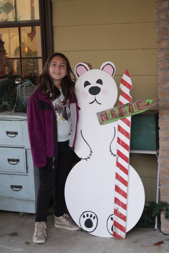 Emmy & Polar Bear Snowman