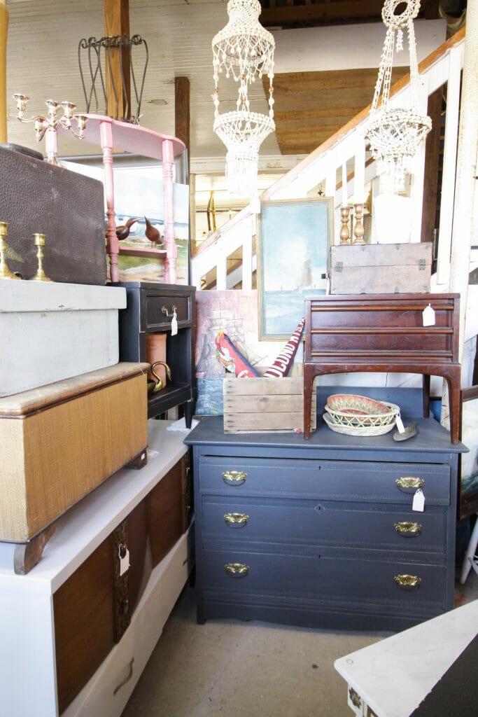 farmhouse gray dresser at sweet clover