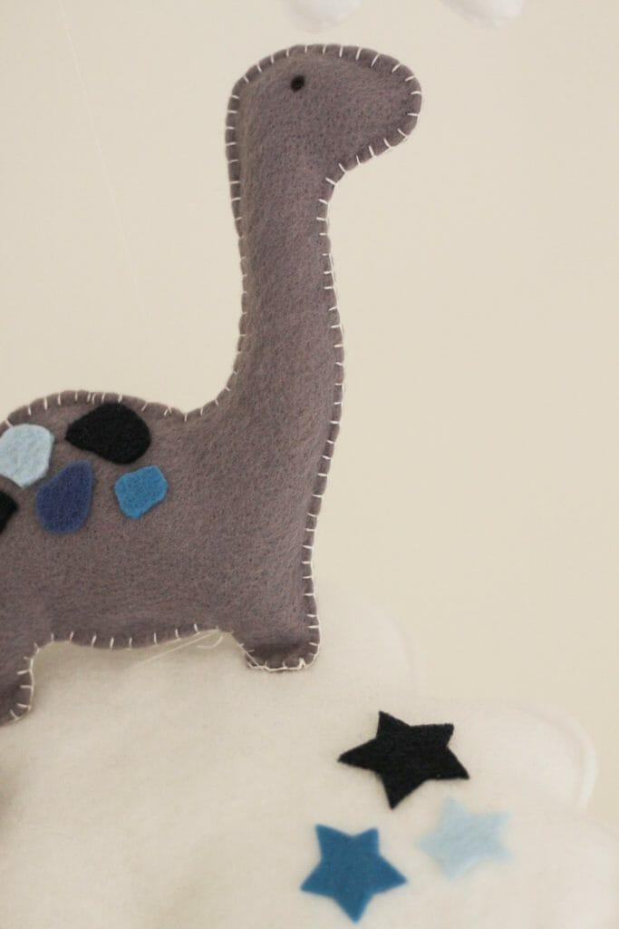Gisele Blaker Designs Dinosaur Mobile