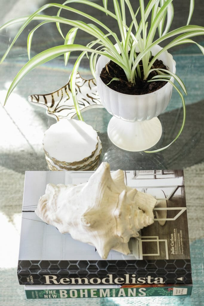 Eclectic Coffee Table Styling