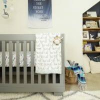 Nursery Progress: Babyletto Crib