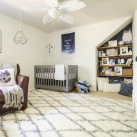 Serene Earthy Modern Vintage Boy's Nursery: Our Boy's