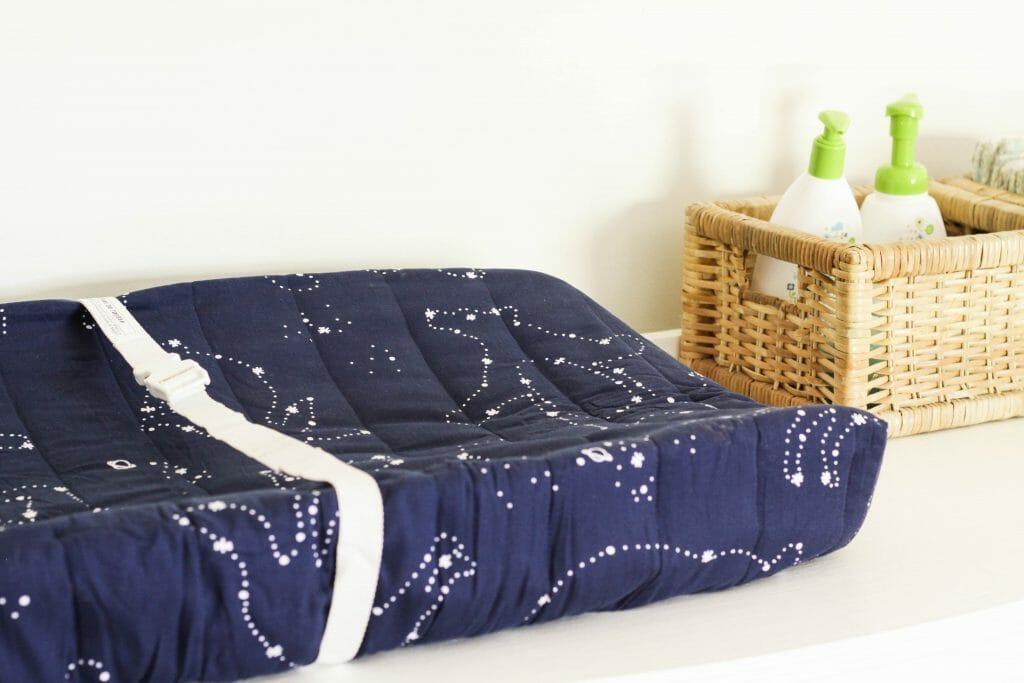 Constellation Changing pad Cover