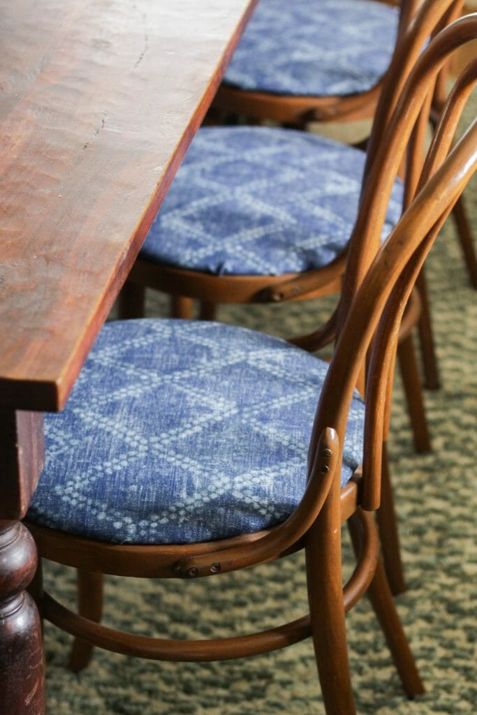 Recovered bentwood chairs