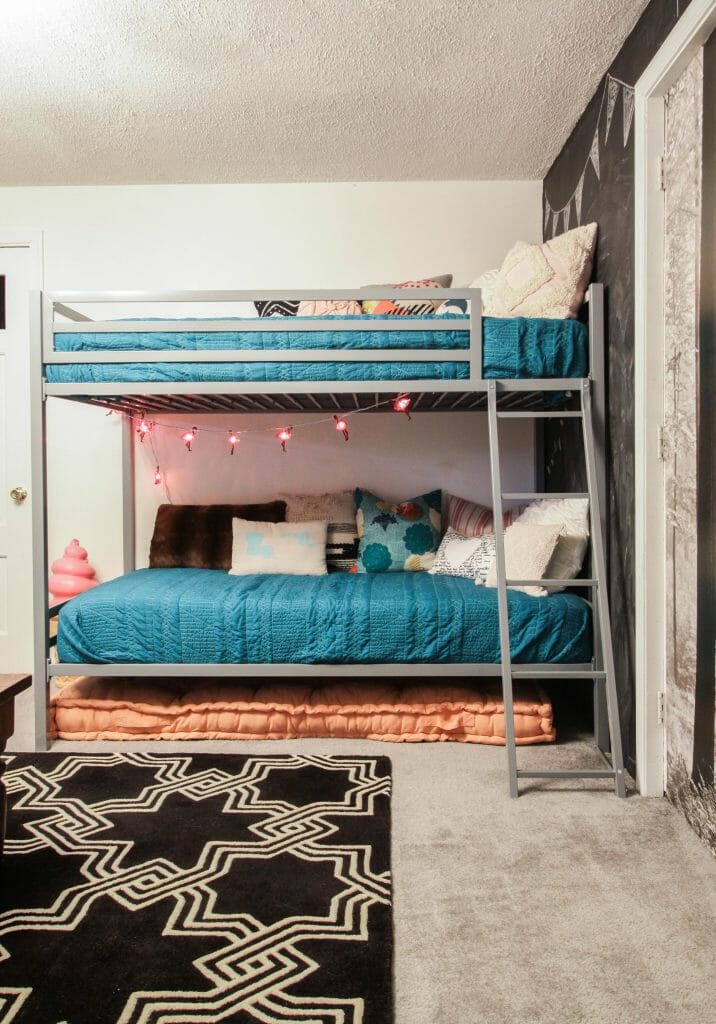 Novogratz Playroom Bunk Beds
