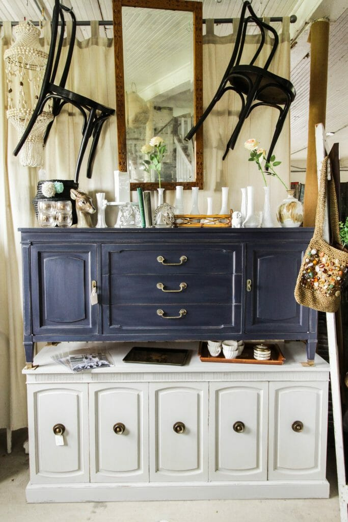 Stacking Sideboards in space Styling