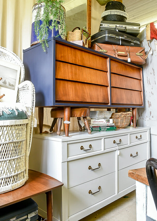 Stacked Dressers June Sweet Clover Sale