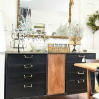 Black 6& Wood MCm Sideboard Makeover