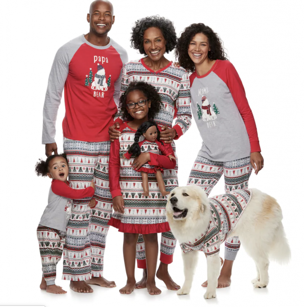Best Source for Matching Family Christmas Pajamas