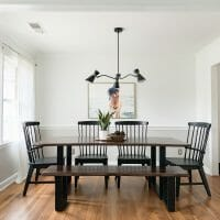 Budget Find Friday: $75 Dining Room Chandelier