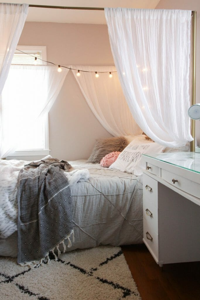 Tween Modern Boho Bedroom