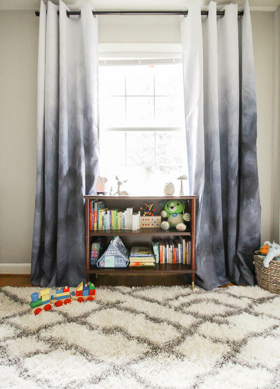 Blackout Curtain panels in blue