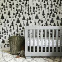 How To Hang Temporary Wallpaper & Progress in Wilder's