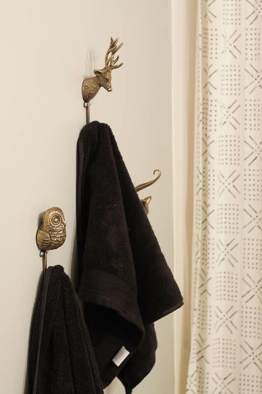 Brass animal hooks