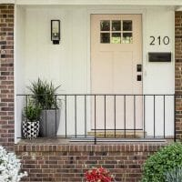 Small Front Porch Budget Makeover
