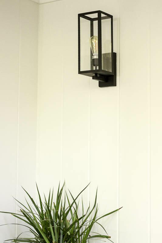 Modern Budget Porch Lighting