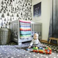 Wilder's Bright & Happy Nursery Featuring a New Mohawk