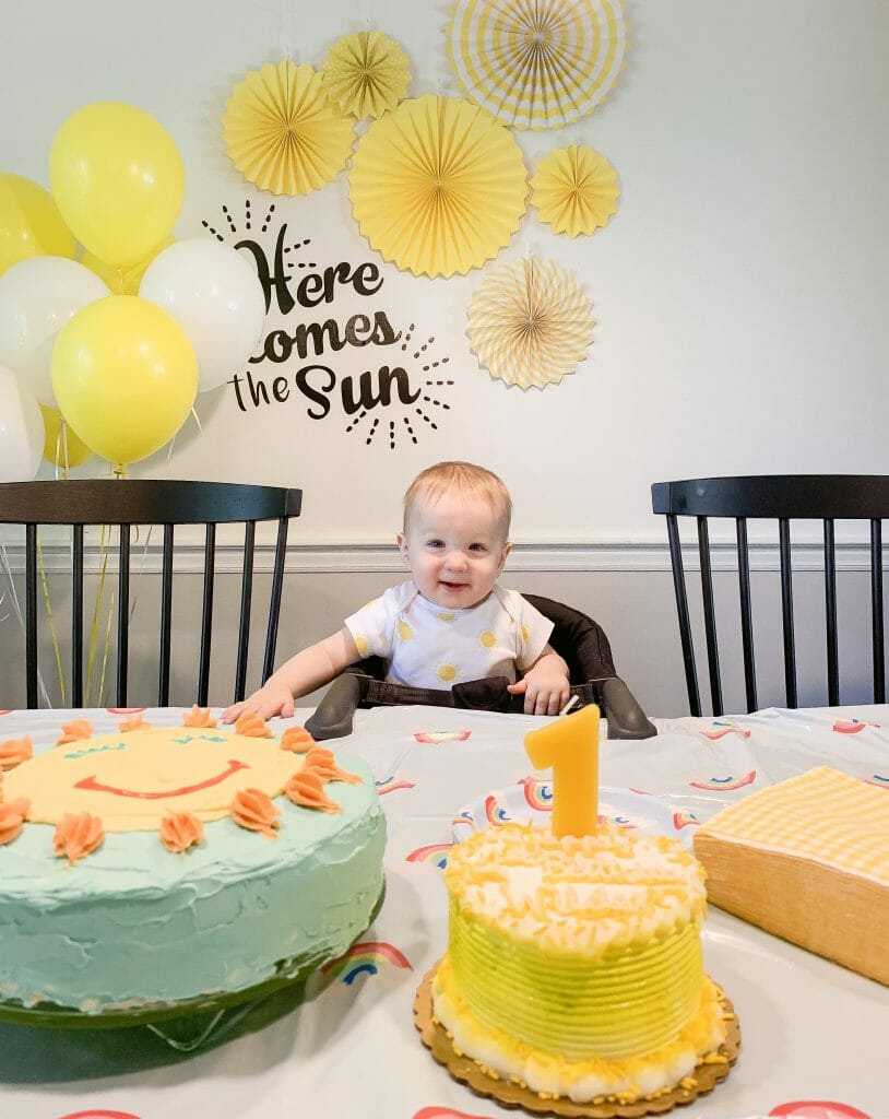Here Comes the Sun First Birthday Party