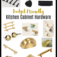 Budget Find Friday: Kitchen Cabinet Hardware