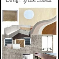 One Room Challenge Fall 2019: Modern Dining Room Design Plan
