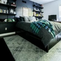 Adding Space with a Storage Platform Bed