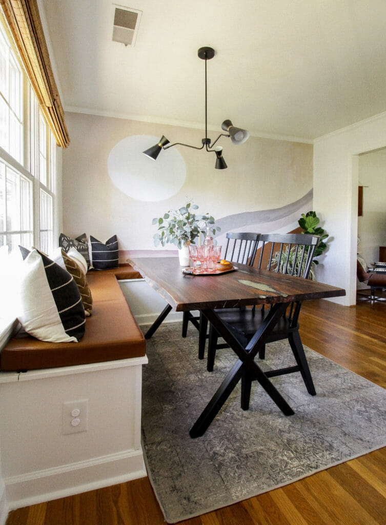 Modern Dining Room Banquette