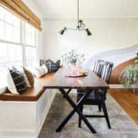 Earthy California Mod Dining Room- Fall 2019 One Room Challenge R