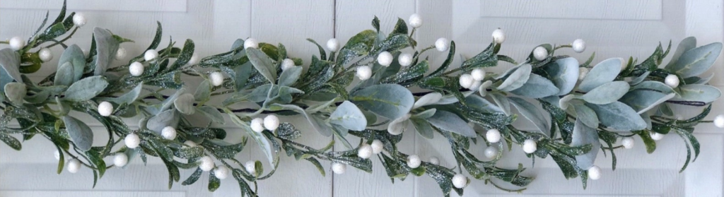 mistletoe garland