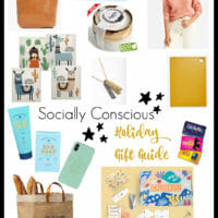 Gift Guide: The Ethically & Environmentally Conscious Person