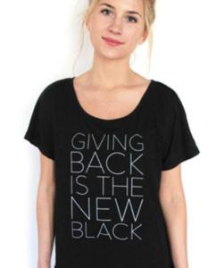 Society B Giving Back Shirt