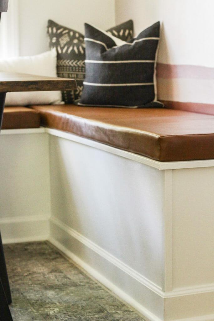 custom banquette bench cushion