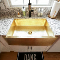 How to Clean a Brass Sink in Less Than 5 Minutes