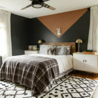 Modern Boho Ceiling Fan in Our Master Bedroom