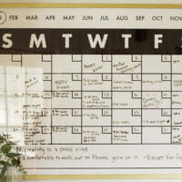 How to Make a Reusable Dry Erase Wall Calendar