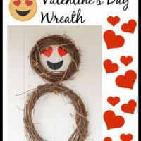 How to Make a Heart Emoji Wreath
