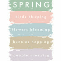 Free Funny Spring Printable