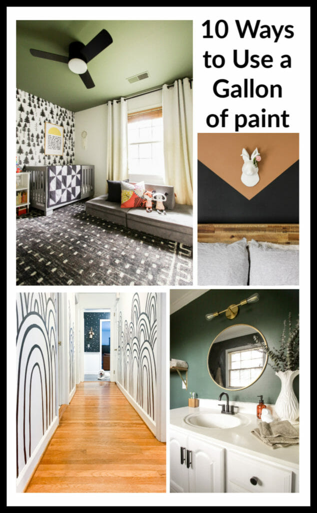 10 ways to use a gallon of paint with big impact