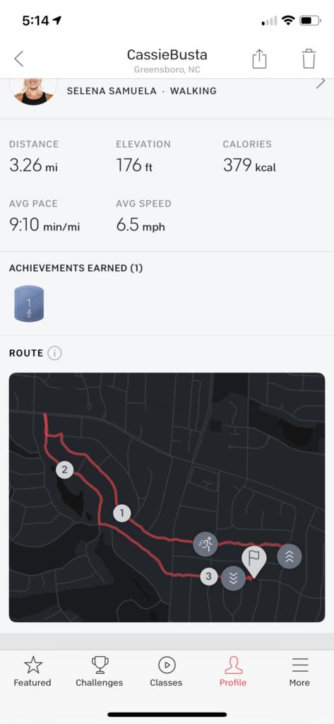 Peloton Run App