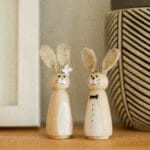 how to make easter bunny peg dolls