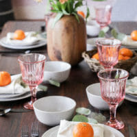 How to Create a Budget Friendly & Sustainable Tablescape (an