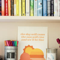 "Free Summer Printable: ""The Sun Will Rise and We'll B"