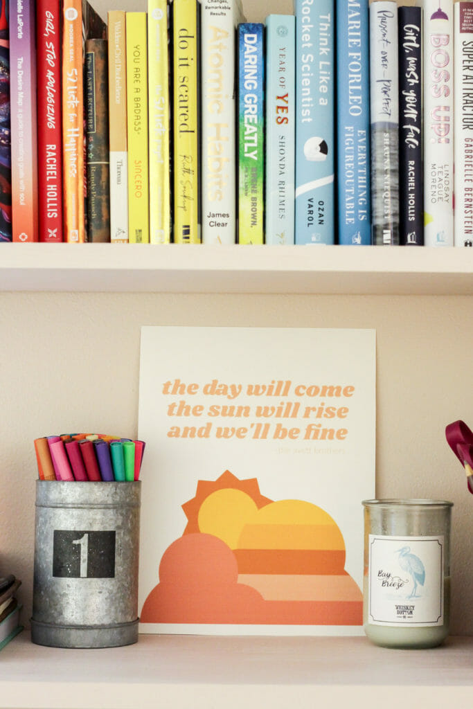 Sun print and rainbow books