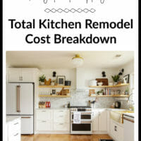 Our Kitchen Renovation Cost Breakdown