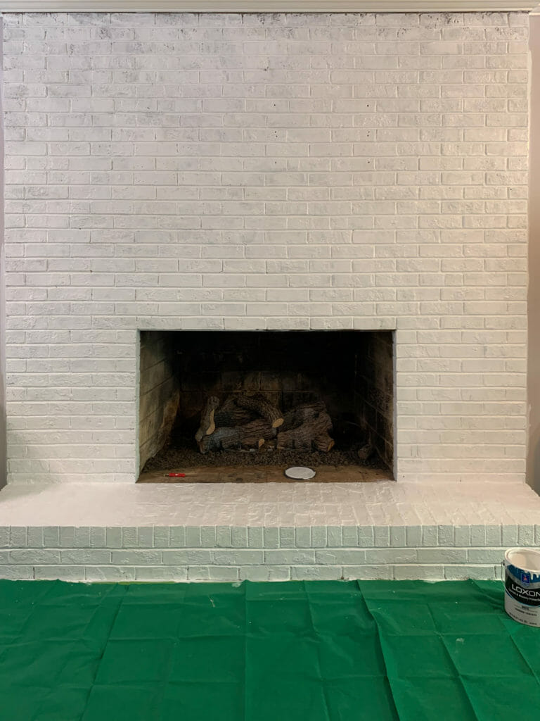 Primed Fireplace