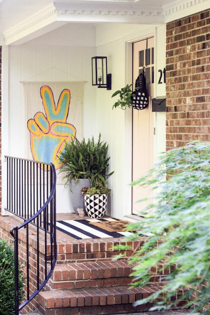 Summer Tour-Colorful Modern Boho Porch