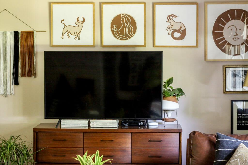 DIY Modern Astrological art