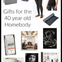 Gift Ideas for the 40 Year Old Homebody (Or What I Actually Got f